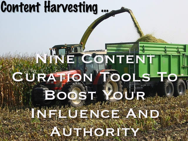 Content curation tools - curate content