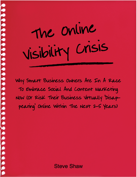 The Online Visibility Crisis