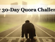 My 30-Day Quora Challenge