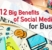 12 Big Benefits of Social Media for Business